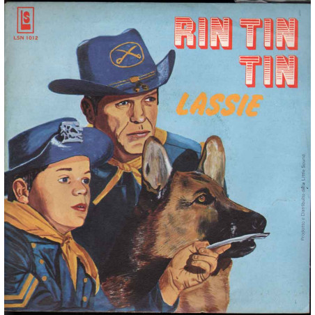 "Boys Group 45giri 7"" Rin Tin Tin / Lassie Nuovo LSN1012"