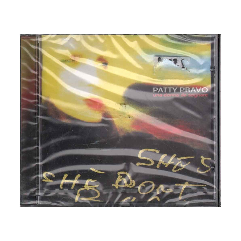 Patty Pravo CD Una Donna Da Sognare Nuovo Sigillato 5099749831124