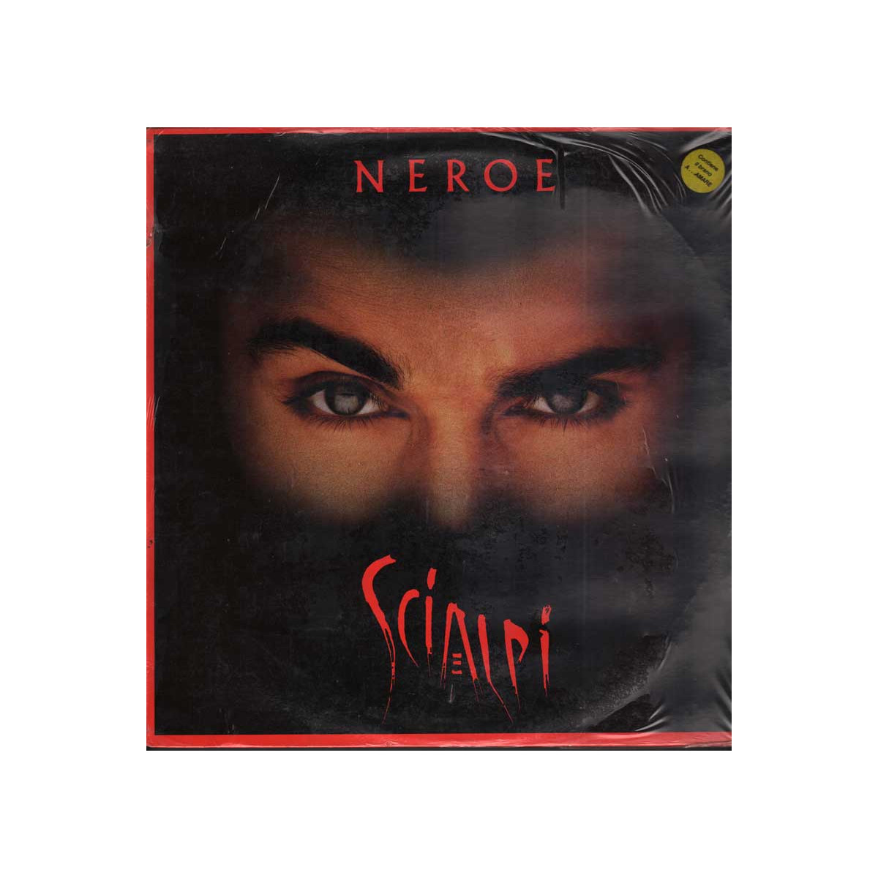Scialpi  Lp 33giri Neroe Nuovo Sigillato 0035627510915