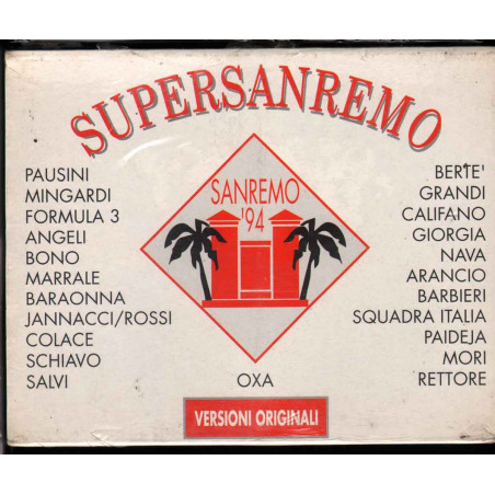 AA.VV. MC7 Supersanremo '94 Sigillato 5099747594847