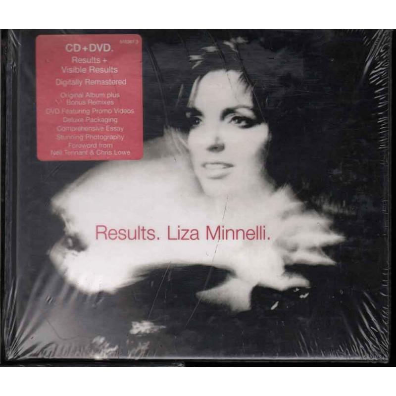 Liza Minnelli CD + DVD Results Nuovo Sigillato 5099751638131