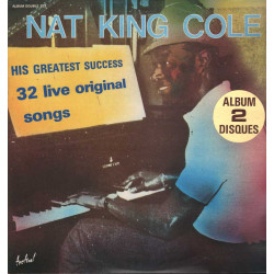 Nat King Cole Lp DOPPIO 33giri His Greatest Success Nuovo