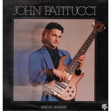 John Patitucci Lp Vinile John Patitucci Omonimo Same / GRP 91049 Nuovo