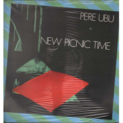 Pere Ubu Lp Vinile New Picnic Time / BASE 40142 Sigillato