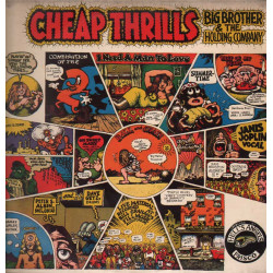 Big Brother & The Holding Company Lp 33giri Cheap Thrills Nuovo
