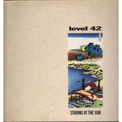 Level 42 Lp Vinile Staring At The Sun / Polydor Nuovo 0042283724716
