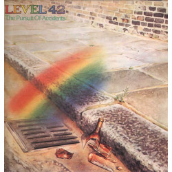 Level 42 Lp Vinile The Pursuit Of Accidents / Polydor ‎Italia Nuovo