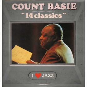Count Basie Lp Vinile 14 Classics / CBS 21133 I Love Jazz Nuovo