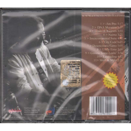 Ernesto Vitolo CD Vintage Hands Nuovo Sigillato 8033201310007