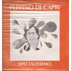 Peppino Di Capri Lp 33giri Specialissimo vol. 2 Nuovo Sigillato