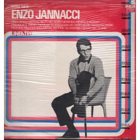 Enzo Jannacci Lp 33giri Cosi Ride Nuovo Sigillato 033012