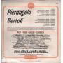 Pierangelo Bertoli Lp 33giri Pierangelo Bertoli (Omonimo) Nuovo Sig 000215