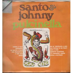 Santo & Johnny Lp Vinile Pulcinella / Ricordi ORL 8058 Orizzonte Nuovo