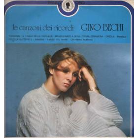 Gino Bechi Lp Vinile Le Canzoni Dei Ricordi / Rifi RPO 72003 Penny Oro Nuovo