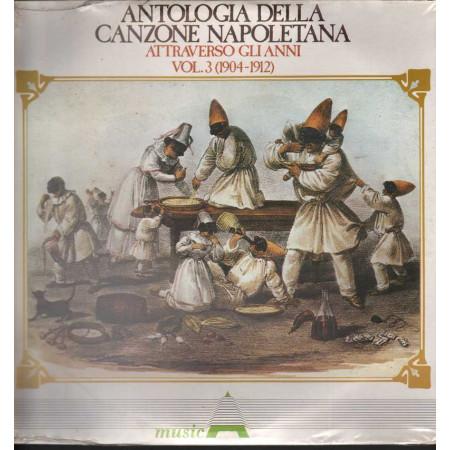 AAVV Lp Antologia Della Canzone Napoletana Attraverso Gli Anni V 3 Sigillato