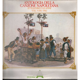 AAVV Lp Antologia Della Canzone Napoletana Attraverso Gli Anni V. 4 Sig 001167