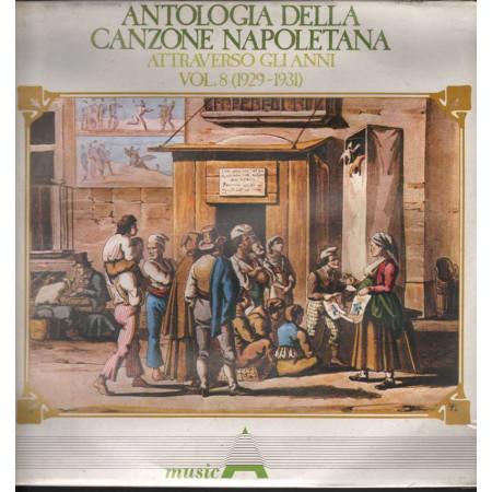 AAVV Lp Antologia Della Canzone Napoletana Attraverso Gli Anni V. 8 Sig 001171