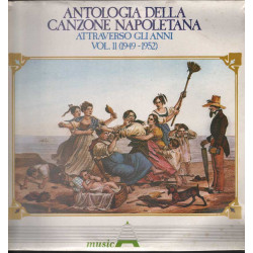 AAVV Lp Antologia Della Canzone Napoletana Attraverso Gli Anni V.11 Sig 001174
