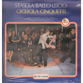 Gigliola Cinquetti Lp 33giri Stasera Ballo Liscio Nuovo Sigillato 0000287