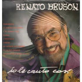 Renato Bruson Lp 33giri Io Le Canto Così Nuovo Sigillato 0035627486319