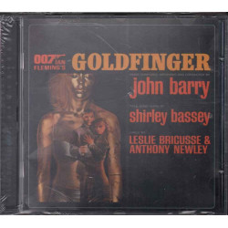 John Barry CD Goldfinger OST Soundtrack Sigillato 0724358089127