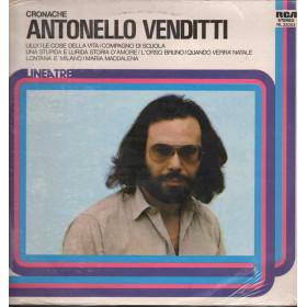 Antonello Venditti Lp 33giri Cronache Nuovo Sigillato 0033053