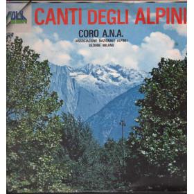 Coro A.N.A. (Associazione Nazionale Alpini) Lp Canti Degli Alpin Nuovo 0008120