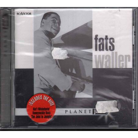 Fats Waller CD Planet Jazz Nuovo Sigillato 0743215205821