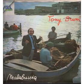 Tony Bruni Lp Vinile Malabuscia / Ricordi ORL 8337 Orizzonte Nuovo
