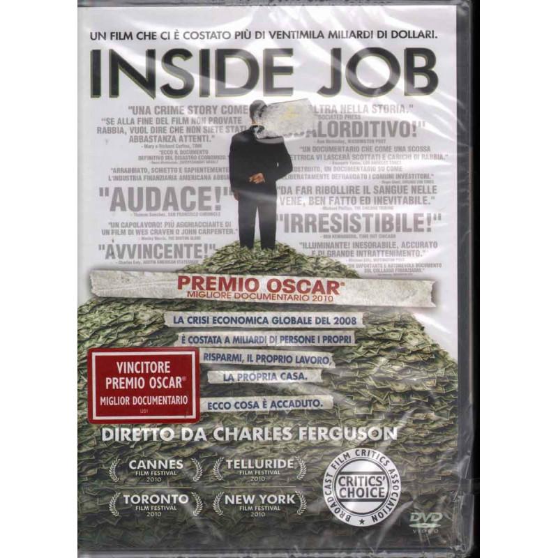 Inside Job DVD Ferguson Charles Sigillato 8013123038630