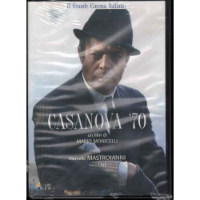Casanova 70 DVD Marcello Mastroianni / Monicelli Mario Sigillato 8032442204045
