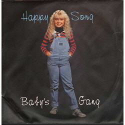 "Baby's Gang Vinile 7"" 45giri Happy Song Nuovo MR NP 007"