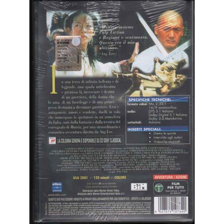 La Tigre E Il Dragone DVD Lee Ang /  Michelle Yeoh Chow / Yun-Fat Sigillato 8027574107340