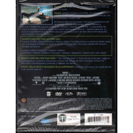 Matrix - Snapper DVD Keanu Reeves / Laurence Fishburne Sigillato 7321955177375