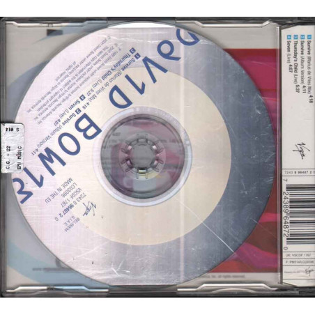 David Bowie ‎CD'S Survive Nuovo 0724389648720