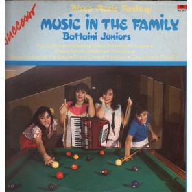 Battaini Juniors Lp 33giri Disco Music Fantasy - Music in the Family Nuovo