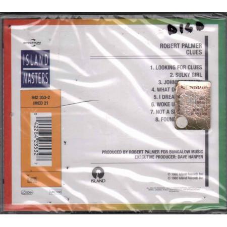 Robert Palmer CD Clues Nuovo Sigillato 0042284235327