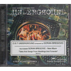 Goran Bregovic CD Underground OST Soundtrack / Mercury Sigillato 0731452891020