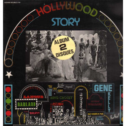AA.VV. 2 Lp Vinile Hollywood Story / Disques Festival ‎ALB 214