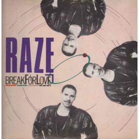 """Raze Vinile 7"""" 45rmp Break 4 Love Nuovo FM 13230"""