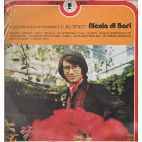 Nicola Di Bari  Lp Le Più Belle Canzoni D'Amore Di Luigi Tenco Nuovo Sig 0072002