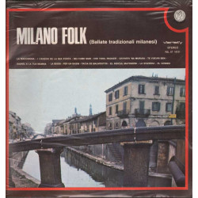 AA.VV. Lp 33giri Milano Folk (Ballate Tradizionali Milanesi) Sigillato 001915