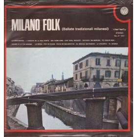 AAVV Lp Vinile Milano Folk Ballate Tradizionali Milanesi Rifi Variety