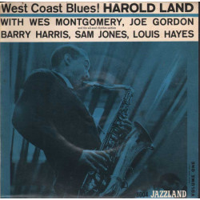 """Harold Land Vinile EP 7"""" West Coast Blues! Volume One Nuovo"""