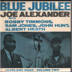 "Joe Alexander / Bobby Timmons Vinile EP 7""Volume Two - Blue Jubilee Nuovo"