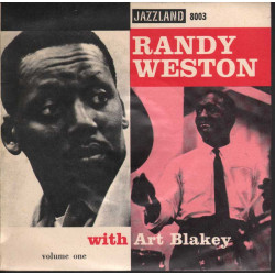 "Randy Weston with Art Blakey Vinile EP 7"" Volume One - Zulu Nuovo"