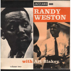 "Randy Weston with Art Blakey Vinile EP 7"" Volume Two - Sweet Weston Nuovo"