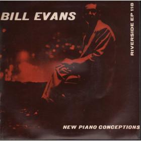 """Bill Evans Vinile EP 7"""" New Piano Conceptions Nuovo"""