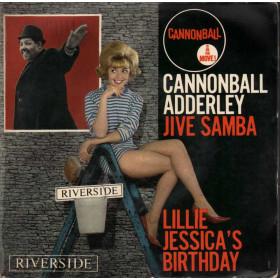 "Cannonball Adderley Vinile EP 7"" Jive Samba Nuovo"