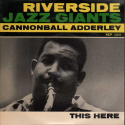 "Cannonball Adderley Vinile EP 7"" This Here Nuovo"